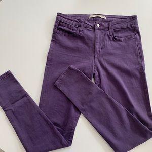 Joe's The Skinny purple jeans size 30